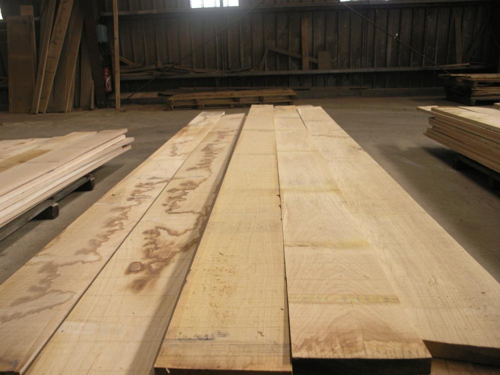 Avivés chêne secs séchoir 27 mm choix QF1b
